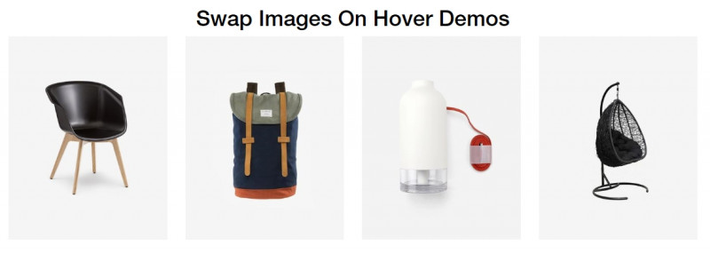 Elegant Image Swap Effect In jQuery And CSS3 - swapImagesOnhover